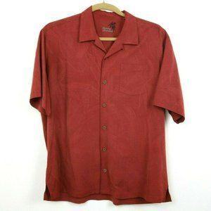 Tommy Bahama Mens Shirt Button Down Short Sleeve